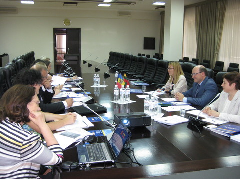 Steering Committee members of the Twinning project in Moldova gathered for the fifth quarterly...